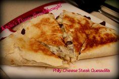 Philly Cheese Steak Quesadilla   Kecia's Flavor Breakthrough!