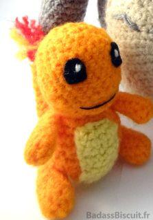 Amigurumi Pokémon : Salamèche (charmander)