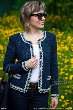 Crochet shawl cardigan sweater coats 29 new ideas Crochet Jacket Pattern, Gilet Crochet, Crochet Shawl, Knit Crochet, Free Crochet, Crochet Style, Shrug Pattern, Crochet Woman, Crochet Baby