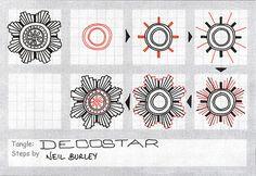 Decostar - tangle pattern