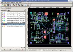 Descargar gratis gerbv: Visor de archivos Gerber RS-274X, Excellon y CSV | Banana-Soft.com