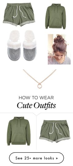 """Sleep ware outfit"" by gvr1016 on Polyvore featuring Victoria's Secret"