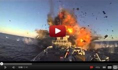 The Norwegian Navy Mean Serious Business With Missile Tests - video dailymotion