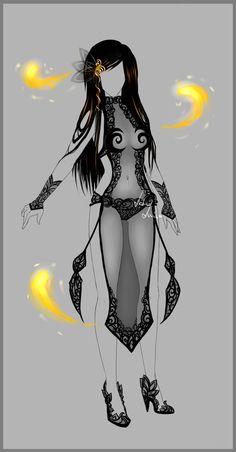 Outfit - Dalma - firedancer by LotusLumino on DeviantArt