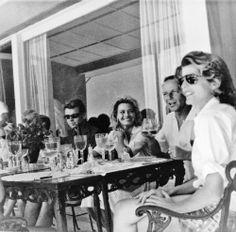 Bobby Kennedy, Frank Sinatra and Patricia Lawford