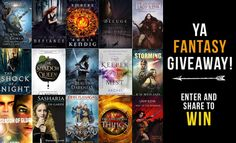 Only five more days to enter! If you like YA fantasy adventure and want to help build my platform, enter and share to win! These books and authors are great!