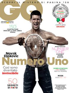 Novak Djokovic, probably my favorite tennis player of all time!