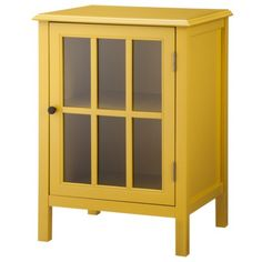 Threshold™ Windham One Door Accent Cabinet bedside table $77 Getting these in red for out nightstands