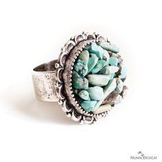 DIY Embedded Stone Ring / Jewelry Tutorial