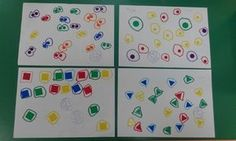 En clase jugamos con gomets, y nos encanta. Con ellos trabajamos la motricidad fina, la atención, los colores, las formas...   En ocasiones...
