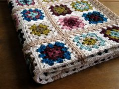 Granny Square Blanket | Flickr - Photo Sharing!