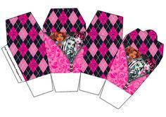 Monster High Printable Boxes   Caixa in box Monster High