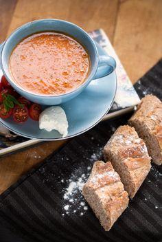 Часови по готвење - Вкусен блог!: Супи и чорби : Домашна супа од домати
