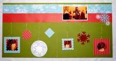 2-page Christmas Scrapbook Layout using Stampin' Up! Supplies