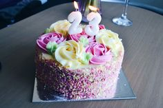 birthday cake 🌸🌸🌸