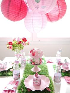 A Woodland-Fairy-Themed Birthday Party
