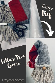 gnomes \ gnomes diy how to make + gnomes + gnomes crafts + gnomes diy how to make from socks + gnomes diy + gnomes diy how to make pattern + gnomes garden + gnomes diy free pattern Christmas Gnome, Diy Christmas Ornaments, Homemade Christmas, Christmas Projects, Holiday Crafts, Christmas Holidays, Gnome Ornaments, Diy Christmas Decorations, Cool Christmas Gift Ideas