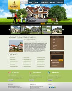 Real Estate Company Joomla Template 300111043 by Dynamic Template