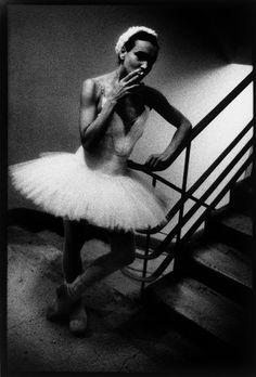 Smoking Ballerina by Keith Cardwell