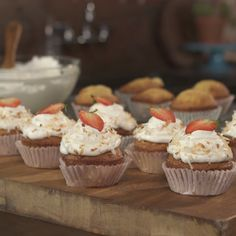How to make Tres Leches Cupcakes.