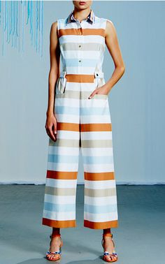 Get inspired and discover Tanya Taylor trunkshow! Shop the latest Tanya Taylor collection at Moda Operandi. Stripes Fashion, Love Fashion, Fashion Outfits, Fashion Ideas, The Lady Eve, Fashion Maker, Spring Summer 2016, Women Wear, Ladies Wear