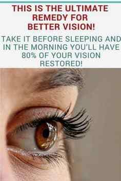 Natural Remedies For Colds Ultra remedy for better vision and eyesight! Natural Remedies For Bloating, Natural Beauty Remedies, Natural Cures, Natural Healing, Cold Remedies, Natural Life, Herbal Remedies, Hair Remedies, Insomnia Remedies