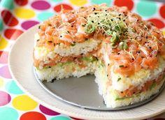 Leuk en lekker - Sushi taart! - Leuke Moeders.nl