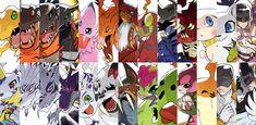 Digimon Adventure Battlecuts by Amastroph on @DeviantArt