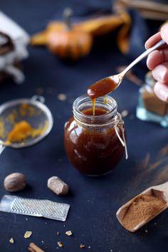 Ce sirop a été réalisé pour une recette bien précise, le pumpking spice latte (un café au lait parfumé de sirop et surmonté d'une bonne couche de crème cha