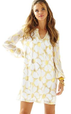 Colby Sleeved Tunic Dress