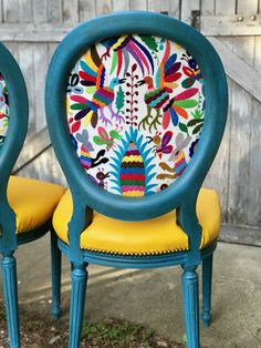 Otomi Chairs Brighten Up a Family's New Home - The Chair Stylist