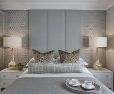 """Guest bedroom at the Esher project #bedroom #bedroomdecor #interiors…"