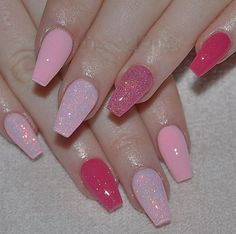 Light Pink Nail Designs With Glitter.Top 40 Glitter Acrylic Nails Ideas For 2018 Fashionre. 35 Navy Blue And Silver Nail Designs PicsRelevant. 23 Chic Blue Nail Designs You Will Want To Try ASAP Page . Pink Sparkle Nails, Light Pink Acrylic Nails, Dark Pink Nails, Pink Nail Art, Best Acrylic Nails, Pink Tip Nails, Short Pink Nails, Gliter Nails, Coffin Nails Glitter