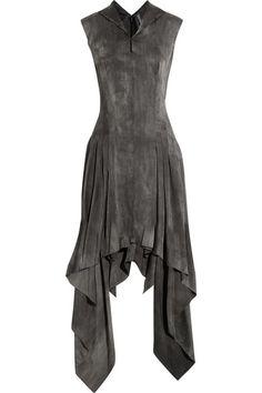 Todd Lynn Shaika stretch silk-blend dress