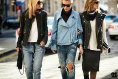 NY winter fashion street looks 2015
