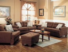 Apartment Decorating Brown Couch decorative pillows can give a room new verve | dark brown couch