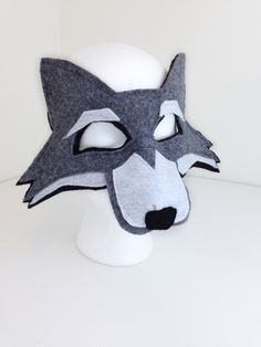 Horse Costumes, Halloween Costumes, Wolf Mask, Bird Costume, Big Bad Wolf, Super Hero Costumes, Imaginative Play, Mask Making, Gifts For Girls