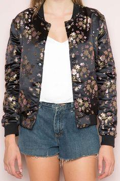 Brandy ♥ Melville | Dennis Bomber Jacket - Clothing