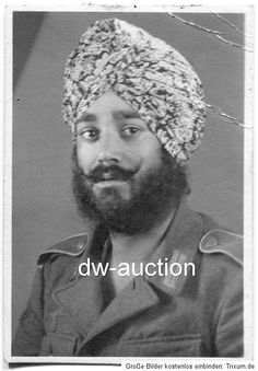 Free India Legion Sikh soldier.