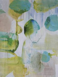 "Saatchi Art Artist Liz Barber; Painting, ""Spring Rain 7"" #art"