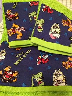 The Muppets Towel Set by MyTimeCreations on Etsy, $20.00