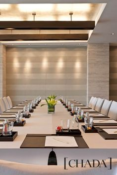 Westin Sendai, Japan. Boardroom Interior Design by Chada. @chada.interiorarchitecture Sendai, Retail Space, Conference Room, Interior Design, Table, Furniture, Home Decor, Nest Design, Decoration Home