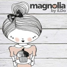 #magnoliadecor #mycompany #alkotok #graphicdesigner #graphicdesign #eznemmunkahanemszenvedély #lovemyjob Magnolia, Hello Kitty, Snoopy, Creative, Instagram Posts, Fictional Characters, Magnolias, Fantasy Characters
