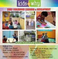 Top Play School in Cyber City Gurgoan for your kid