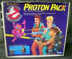 One of my favorite childhood toys ever. Ghostbusters Proton Pack, Ghostbusters Toys, The Real Ghostbusters, Vintage Toys 80s, Retro Toys, 90s Toys, Childhood Toys, Childhood Memories, 1980s Kids