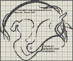 0 point de croix femme et cheval - cross stitch woman and horse