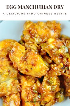Egg Manchurian dry is a sweet and spicy Indo Chinese recipe. It serves as an excellent party appetizer or sides with fried rice and noodles. Egg Recipes Indian, Indo Chinese Recipes, Ethnic Recipes, Chinese Vegetables, Dried Vegetables, Chicken Masala Recipe Indian, Appetizers For Party, Appetizer Recipes, New Recipes