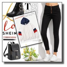 """""""shein"""" by mersy-123 ❤ liked on Polyvore featuring L'Oréal Paris and MAC Cosmetics"""