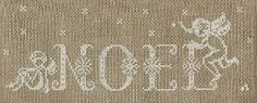 Simple cross stitch patterns can be converted to filet crochet -- I think this would be beautiful.