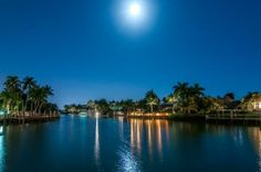 Welcome to this magnificent Residence in Naples' most exclusive waterfront community, Port Royal. Moonrise over Rum Row Casual. Port Royal Naples, Naples Florida, Luxury Real Estate, Rum, The Row, Beautiful Homes, The Neighbourhood, Backyard, Tours